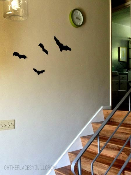 Halloween decor - bats